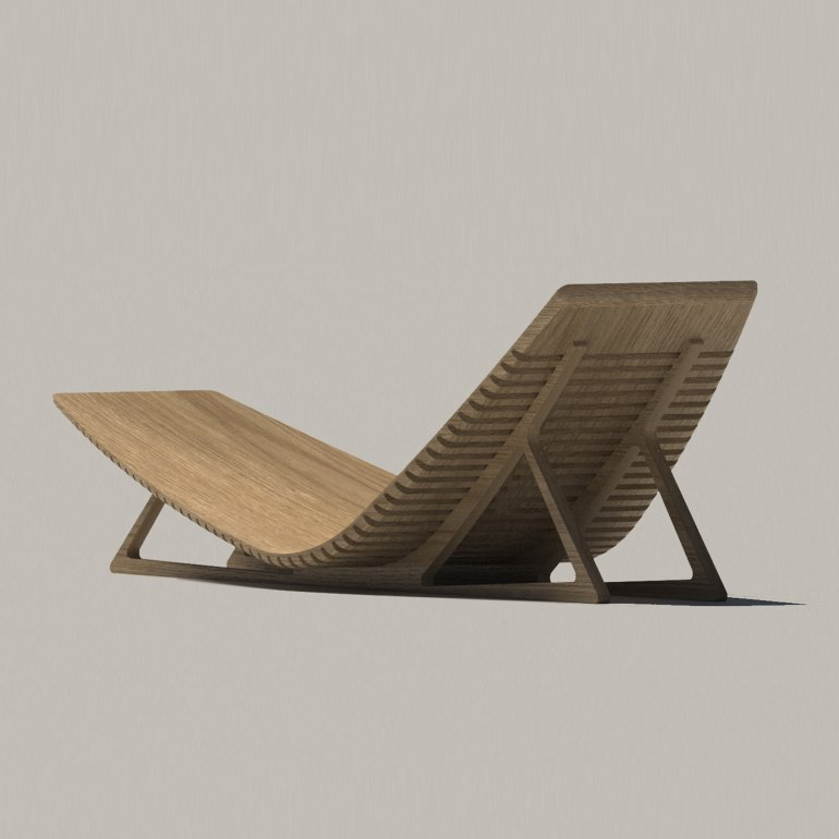 plywood chaise watson architecture design. Black Bedroom Furniture Sets. Home Design Ideas